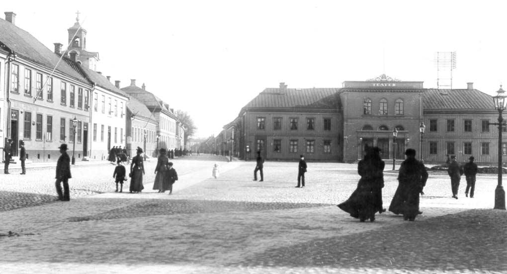 """Hovrättstorget """"Ofrälsetorget"""" 1892."""
