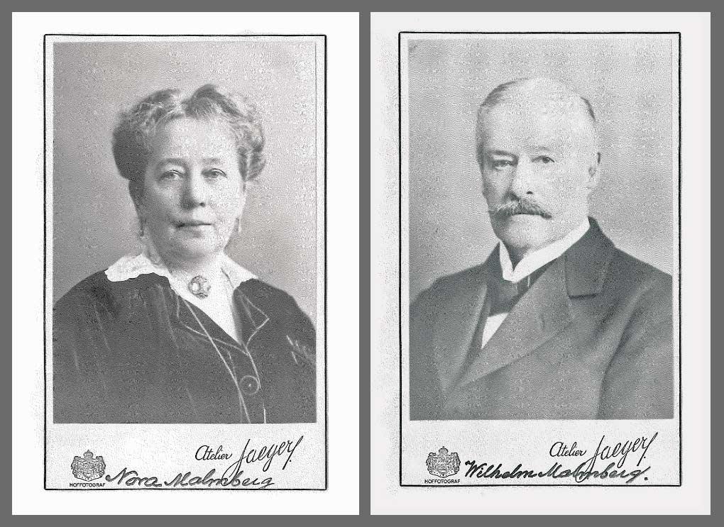 Nora och Wilhelm Malmberg