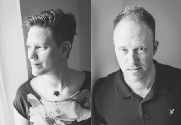 Sara Pettersson och Andreas Lindebring